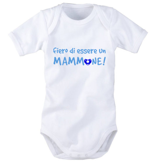 Mammone – Body neonato mezza manica