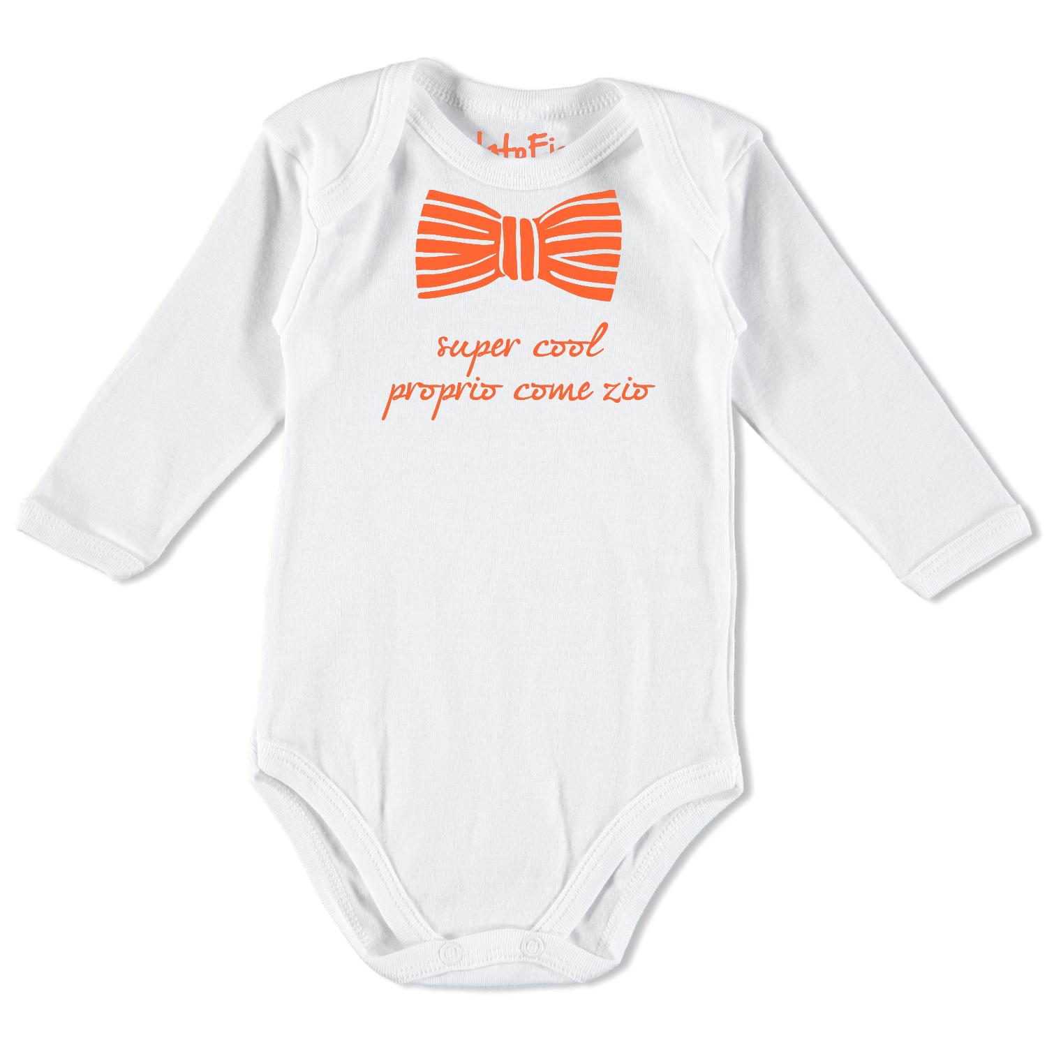 Super cool come zio – Body neonato manica lunga