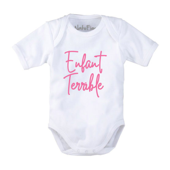 Enfant terrible – Body neonato mezza manica